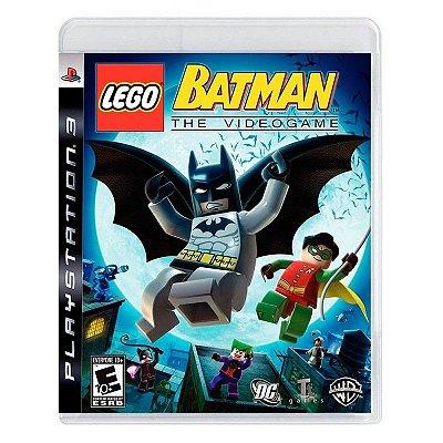 LEGO BATMAN PS3 USADO