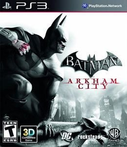 BATMAN ARKHAM CITY PS3 USADO