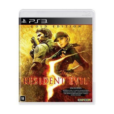 RESIDENT EVIL 5 GOLD EDITION PS3 USADO