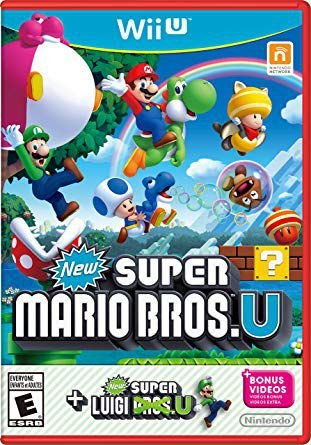 NEW SUPER MARIO BROSS + LUIGI WIIU USADO