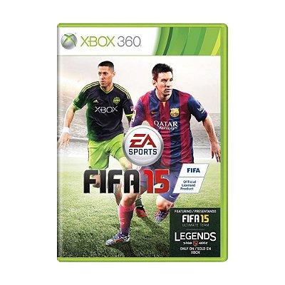 FIFA 15 XBOX 360 USADO