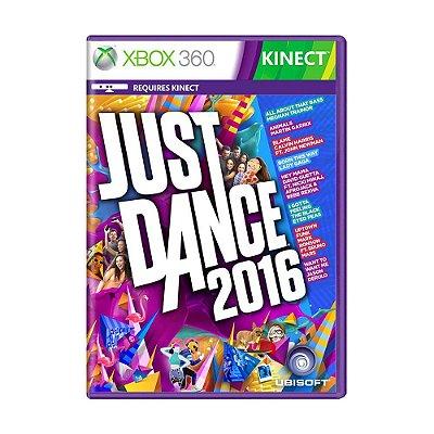 JUST DANCE 2016 XBOX 360 USADO