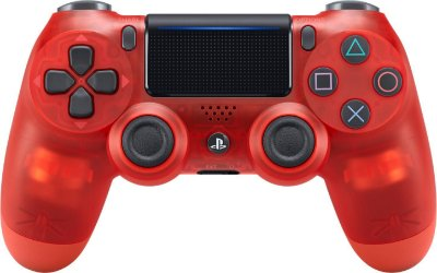 CONTROLE DUALSHOCK 4 CRYSTAL RED