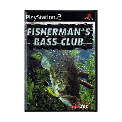 FISHERMAN BASS CLUB PS2 USADO