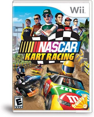 NASCAR KART RACING WII USADO