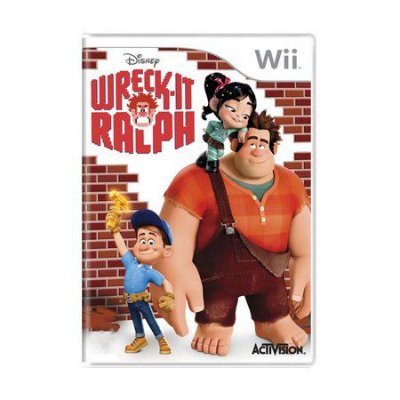 WRECK-IT RALPH WII USADO