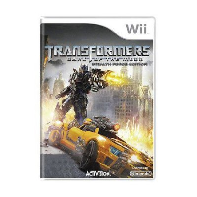 TRANSFORMERS DARK OF THE MOON WII USADO