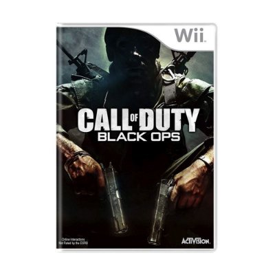 CALL OF DUTY BLACK OPS WII USADO