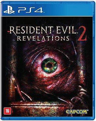 RESIDENT EVIL REVELATIONS 2 PS4 USADO