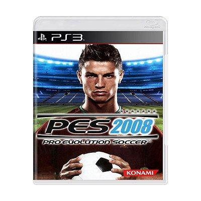 PES 2008 PS3 USADO
