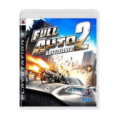 FULL AUTO 2 BATTLELINES PS3 USADO