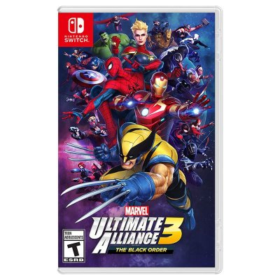 MARVEL ULTIMATE ALLIANCE 3 SWITCH USADO
