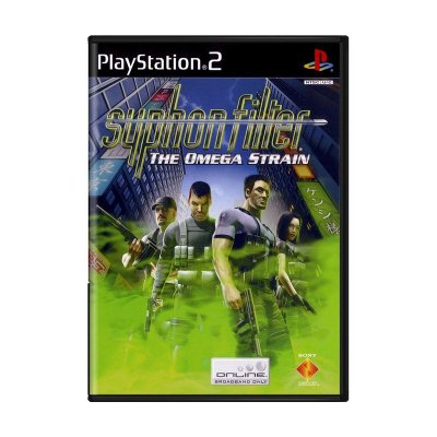 SYPHON FILTER THE OMEGA STRAIN PS2 USADO
