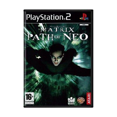 THE MATRIX PATH OF NEO PS2 USADO