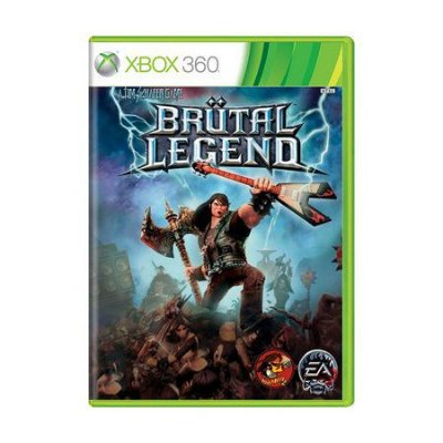 BRUTAL LEGENDS XBOX USADO