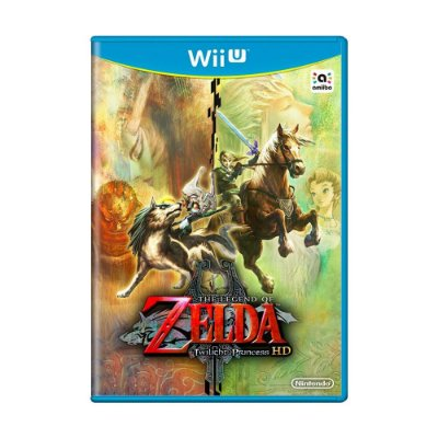 THE LEGEND OF ZELDA TWILIGHT PRINCESS WII U USADO