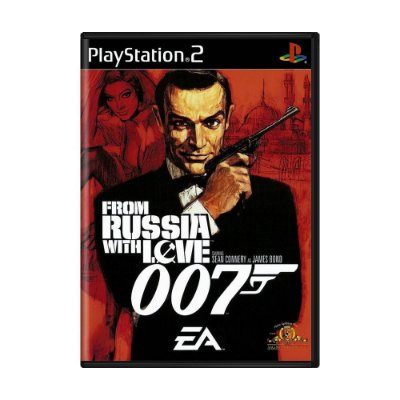 007 FROM RUSSIA WITH LOVE PS2 USADO
