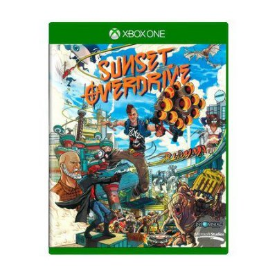 SUNSET OVERDRIVE XBOX ONE USADO