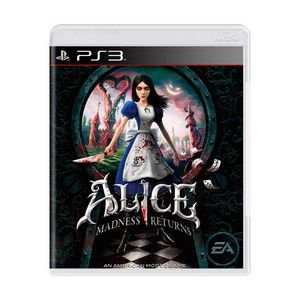 ALICE MADNESS RETURNS PS3 USADO