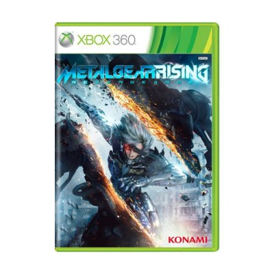 METAL GEAR RISING REVENGANCE XBOX 360 USADO