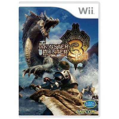 MONSTER HUNTER 3 TRI WII USADO