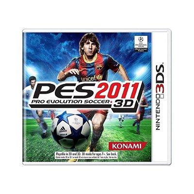 PES 2011 3DS USADO