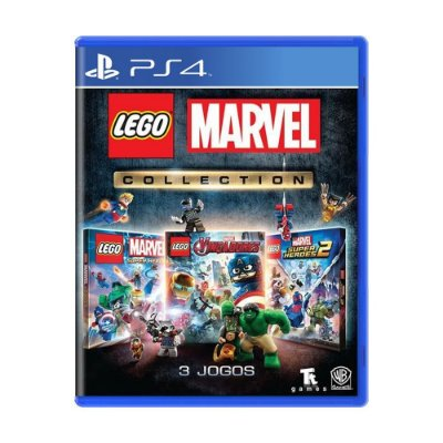 LEGO MARVEL SUPER HEROES COLLECTION - PS4 USADO