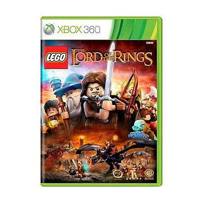 LEGO O SENHOR DOS ANEIS XBOX 360 USADO