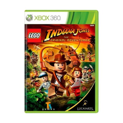 LEGO INDIANA JONES X360 USADO