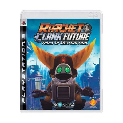 RATCHET & CLANK TOOLS OF DESTRUCTION PS3 USADO