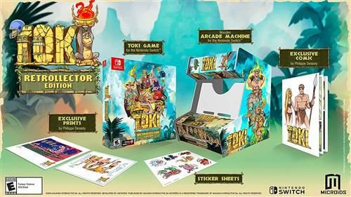 TOKI RETROLLECTOR EDITION SWITCH USADO