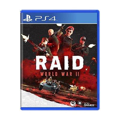 RAID WORD WAR II PS4