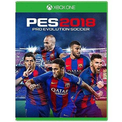 PES 2018 XBOX ONE USADO