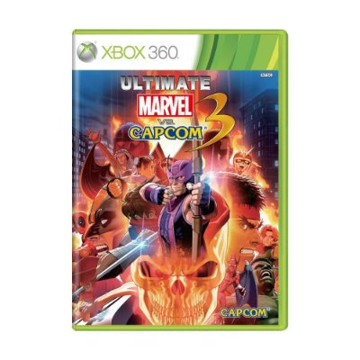 ULTIMATE MARVEL VS CAPCOM 3 X360 USADO