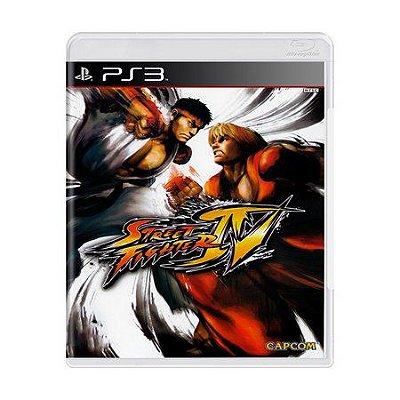 STREET FIGHTER IV PS3 USADO