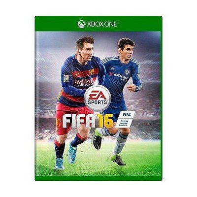 FIFA 16 XBOX ONE USADO