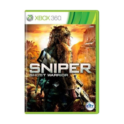 SNIPER GHOST WARRIOR X360 USADO