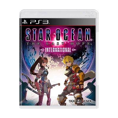 STAR OCEAN THE LAST HOPE INTERNATIONAL PS3 USADO