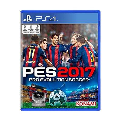 PES 2017 PS4 USADO