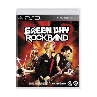 GREEN DAY ROCKBAND PS3 USADO