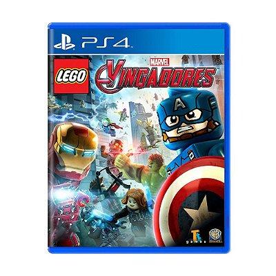 LEGO VINGADORES PS4 USADO