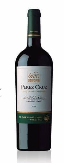 PEREZ CRUZ LIMITED EDITION CAB. FRANC 750 ML