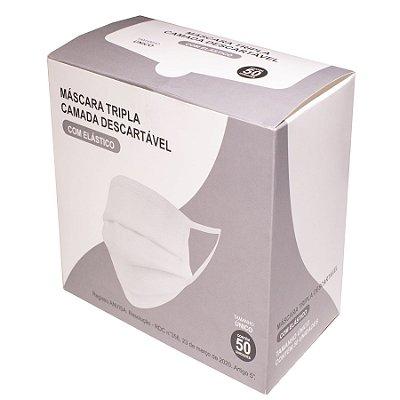 Máscara Tripla Camada BRTC | Atacado - 10.000 unidades (200 caixas) ou mais