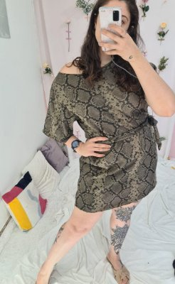 Vestido Trico