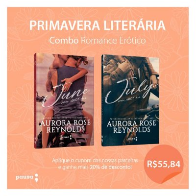Combo Romance Erótico - June & July