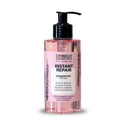 Shampoo Instant Repair Natural Vegano Jojoba e Coco