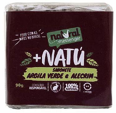 Sabonete Esfoliante Facial - Argila Verde com Alecrim 90g
