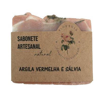 Sabonetes Naturais Artesanais Flor Rosa