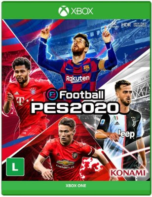 PES2020 XBOX ONE - MÍDIA DIGITAL