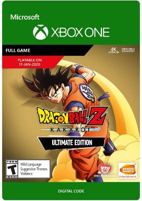 DRAGON BALL Z KAKAROT XBOX ONE - MÍDIA DIGITAL